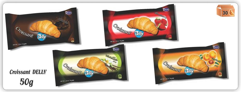 cumpără Croissant Delly 50 gr