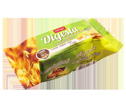 cumpără Biscuiti Digesta cu Cereale, Stafide, Caise si Mar - DOBROGEA