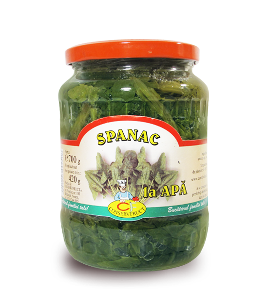 cumpără Spanac la apa - Conservfruct