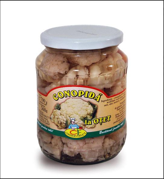 cumpără Conopida la otet - Conservfruct