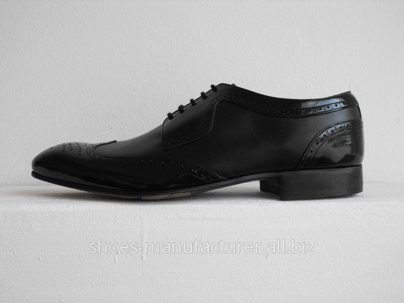 Pantofi din piele pentru barbati - model 3720