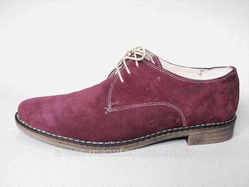 Pantofi barbatesti din piele intoarsa 3034 -  Colectia Casual