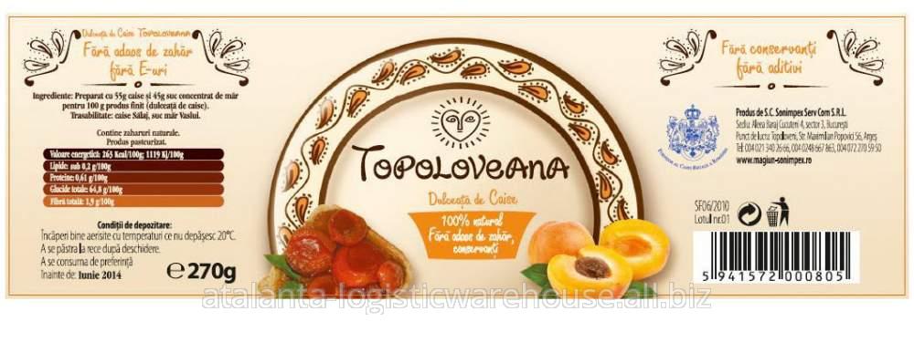 cumpără Dulceata de caise Topoloveana