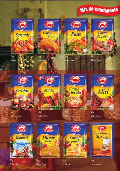 cumpără Mix de condimente Cosmin