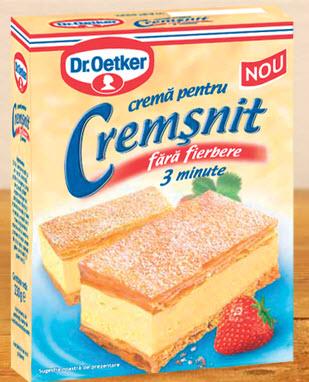 cumpără Crema pentru cremsnit - Dr. Oetker