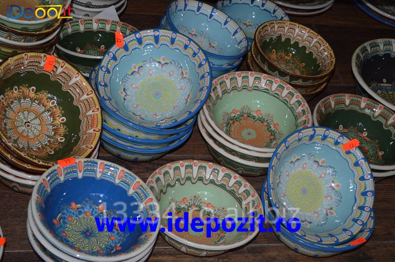 cumpără Castroane traditionale romanesti, lucrate si pictate manual, Horezu