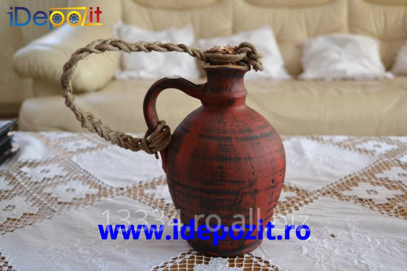cumpără Ulcior traditional romanesc, lucrat manual in Horezu