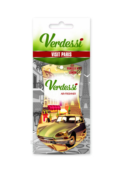 cumpără Odorizant masina - Visit Paris - Verdessi