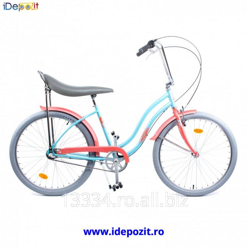 cumpără Bicicleta Pegas : Strada 2 3S, Turcuoaz Mofturos Pentru femei