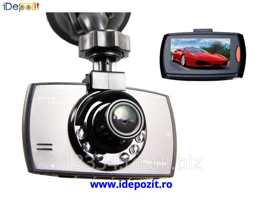cumpără Camera Video 12 Megapixeli Full HD 1080P cu Nightvision H.264 30fps G Sensor 170˚ Ecran WIDE, culoare neagra