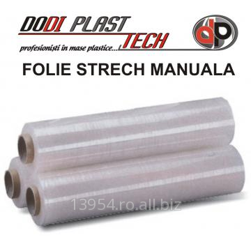 Folie stretch paletizare manuala