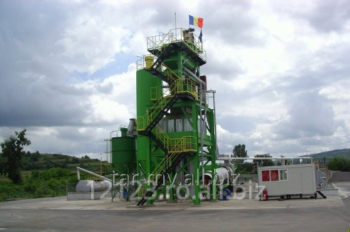 Statie fixa de preparat mixuri asfaltice verticala - SMA - V