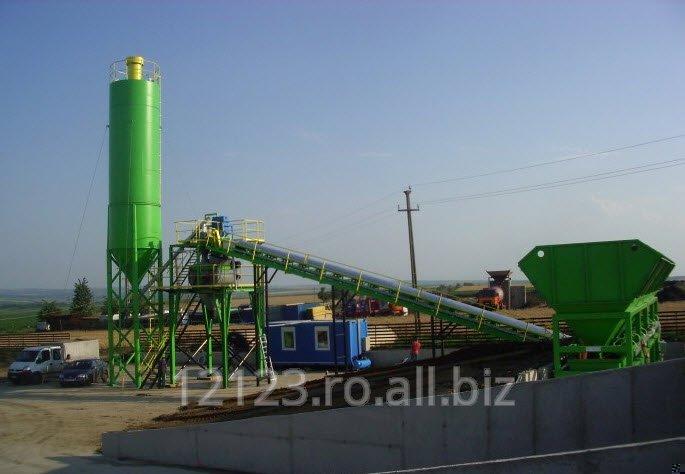 Statie de beton - tip SB 30mc/h / SB 45mc/h