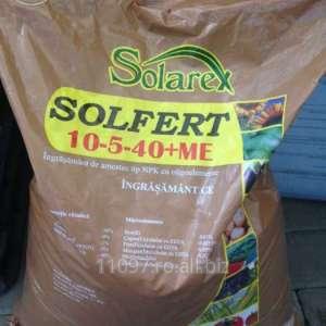 cumpără Ingrasamant SOLFERT 10-5-40 – NPK – 20 Kg