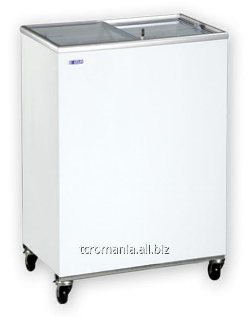 Ladă congelatoare cu capac transparent glisant | UDD 100 SCG