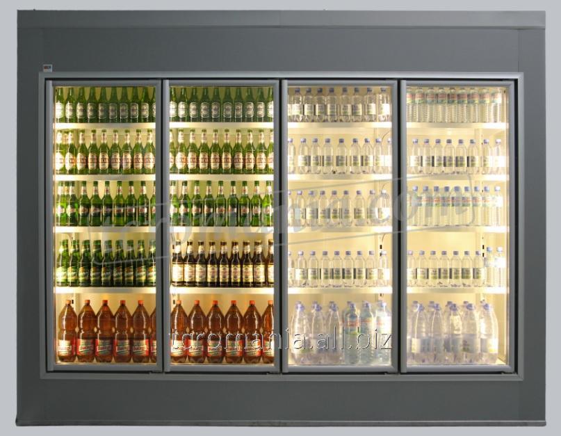 Cameră frigorifică vitrată walk-in cooler   TC 100 GD W