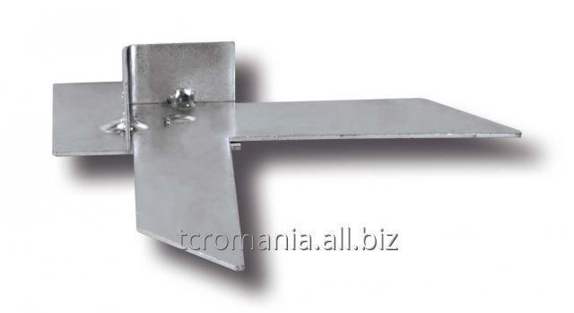 Colţar pentru Profil F, 30 mm, oţel zincat