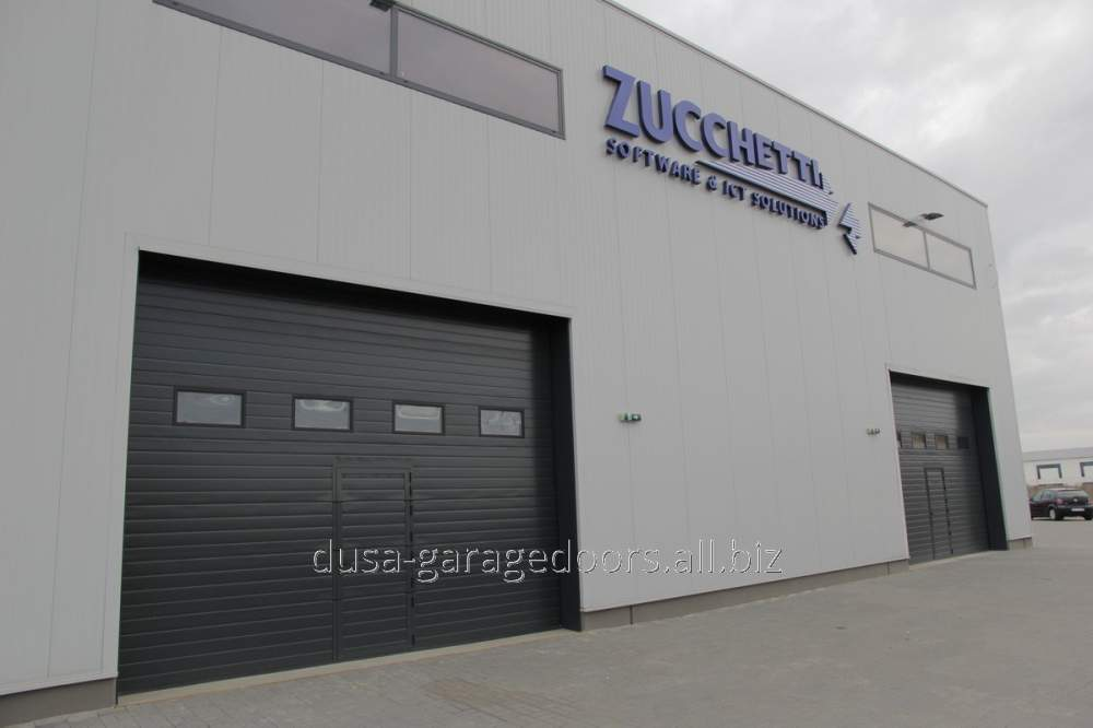 Acheter Porte industrielle - Anthracite