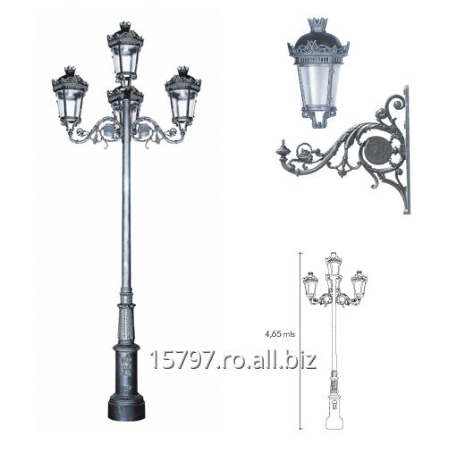 cumpără Columna Model Columna Villa + Farol Fernando VII + Palomilla Fernando VII