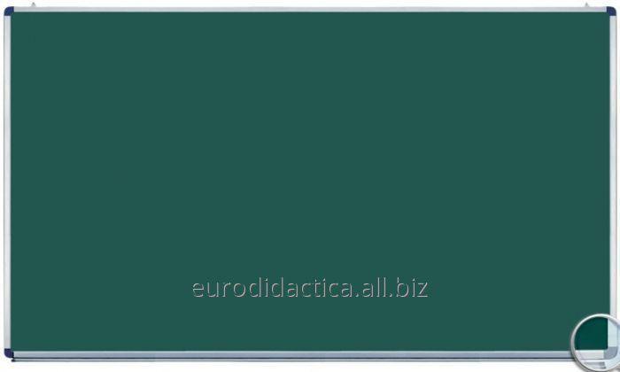 Tabla scolara monobloc verde 2000X1200