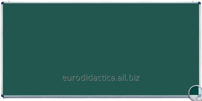 Tabla scolara monobloc verde 2400X1200