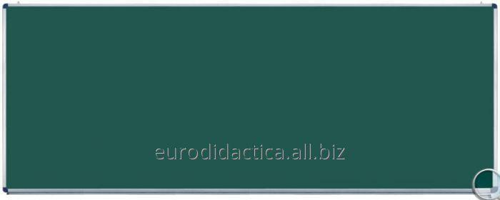 Tabla scolara monobloc verde 3000X1200