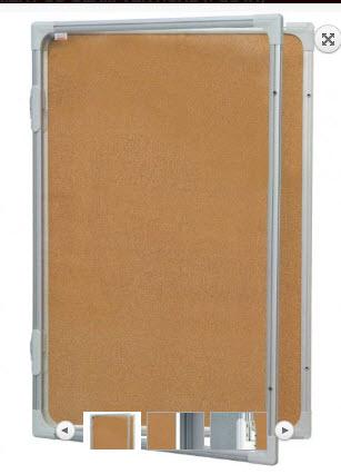 AVIZIER SECURIZAT CU GEAM VERTICAL (PLUTA) 900X1200