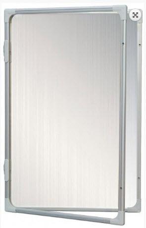 AVIZIER SECURIZAT CU GEAM VERTICAL(METALO-CERAMICA) 600X900