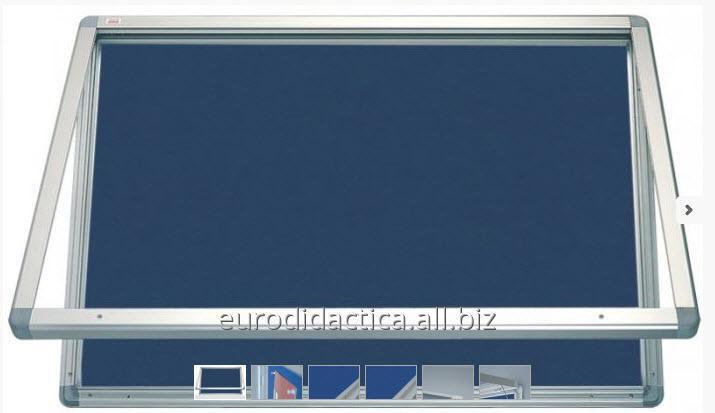 AVIZIER SECURIZAT ORIZONTAL (MATERIAL TEXTIL) 900X600