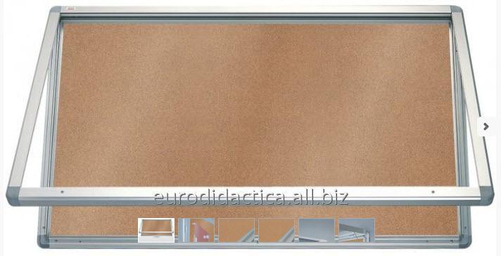 AVIZIER SECURIZAT, ORIZONTAL, PT. SPATII EXTERIOARE (PLUTA) 750X700
