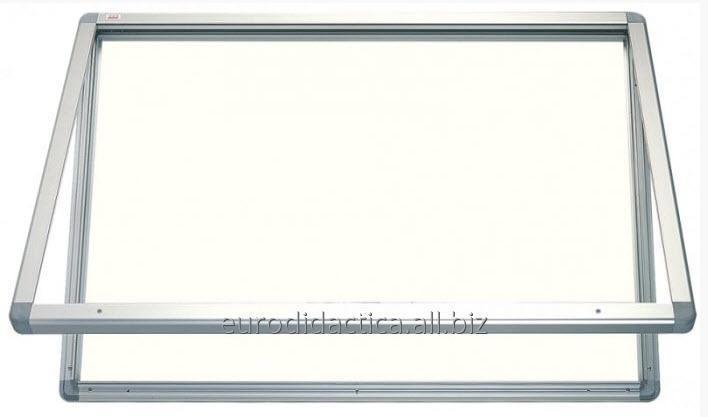 AVIZIER SECURIZAT ORIZONTAL PT. SPATII EXTERIOARE(METALO-CERAMICA) 530X700