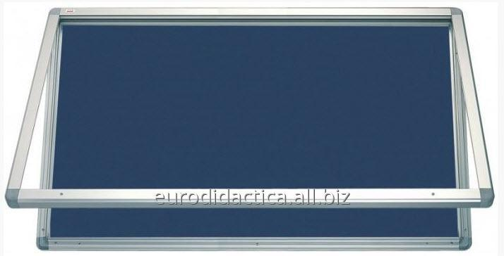 AVIZIER SECURIZAT ORIZONTAL PT.SPATII EXTERIOARE (MATERIAL TEXTIL) 750X700