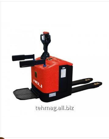 Transpaleta Electrica cu platforma Heli CBD15 1,5t 12cm E1,5T12CM