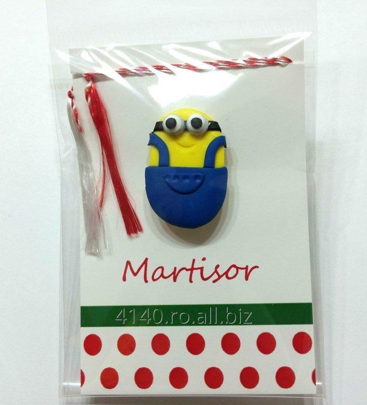 cumpără Martisor Brosa Handmade Fimo Minion