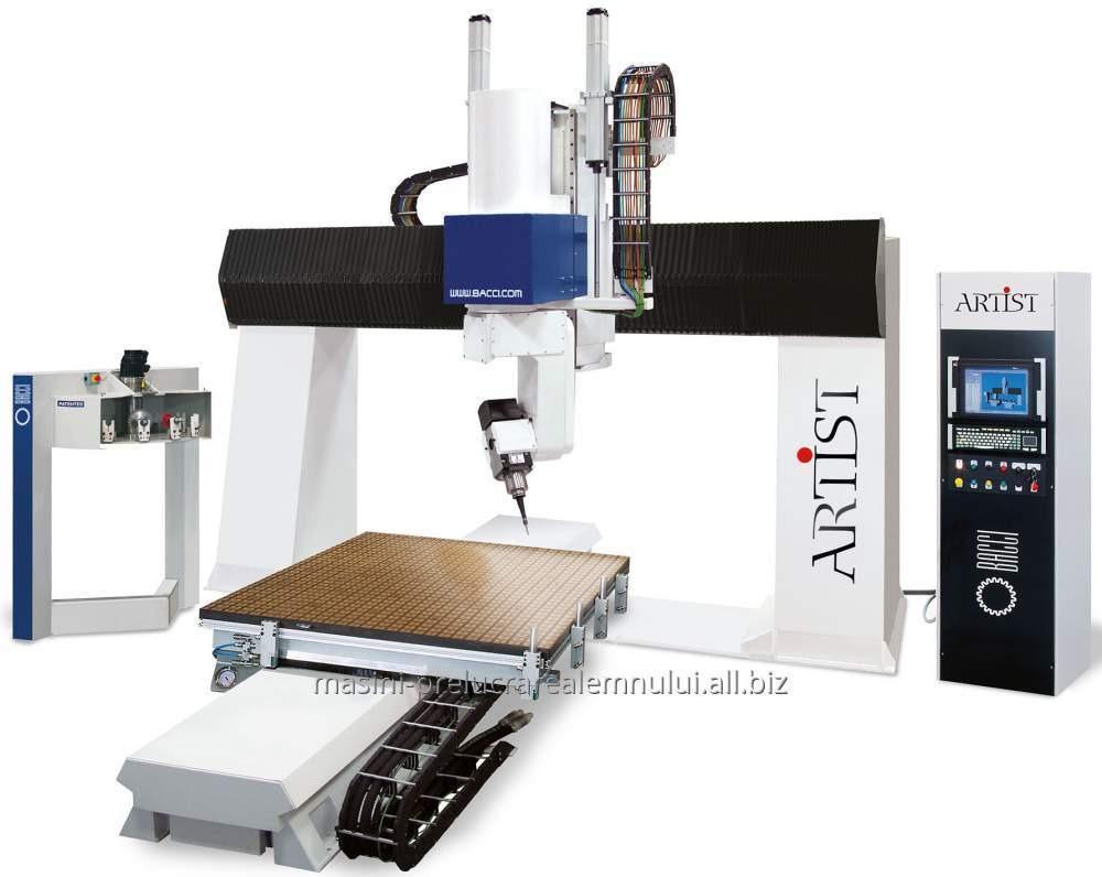 cumpără CNC BACCI 5 / 12 axe ARTIST.S LPM