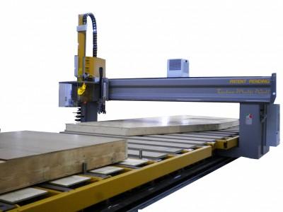 cumpără Utilaj CNC prelucrare structuri pereti case din lemn Techno Multiwall