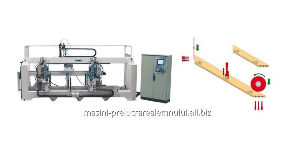cumpără CNC Comec Group pentru taiere si decupare usi de mobilier FRONTAL 2500 CN