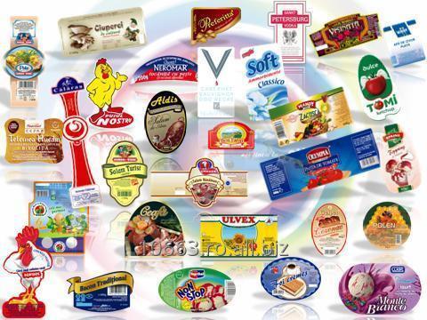cumpără Etichete auto-adezive imprimate
