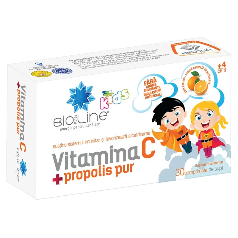 cumpără VITAMINA C PROPOLIS kids