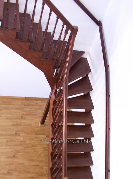 cumpără Scari integrale din lemn