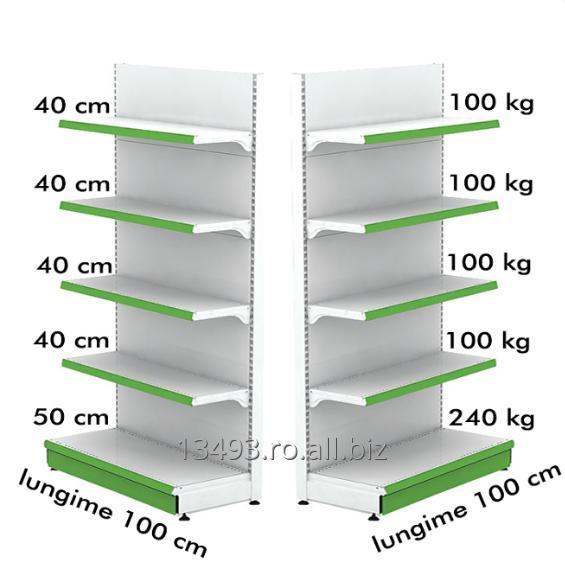 cumpără Raft metalic de perete 100*230 baza 50 cm si 4 polite de 40 cm