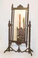 Oglinda sculptata din lemn masiv