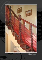 Balustrada de Lux  Stilizat  din lemn masiv