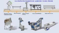 Linii automatizate profesionale pentru produs suc natural