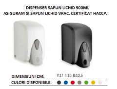 DISPENSER SAPUN LICHID 500ml