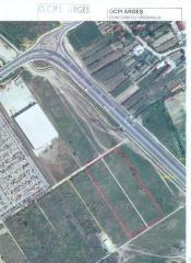 Teren industrial in Pitesti- Bascov, E81-A1, toate utilitatile