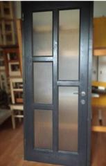 Usa de interior de lemn