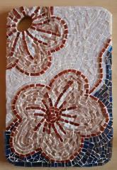 Tablou mozaic sticla - Flori