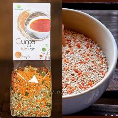 Quinoa cu linte rosie
