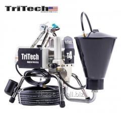Pompa airless, electrica, Tritech T4 cu rezervor 6L